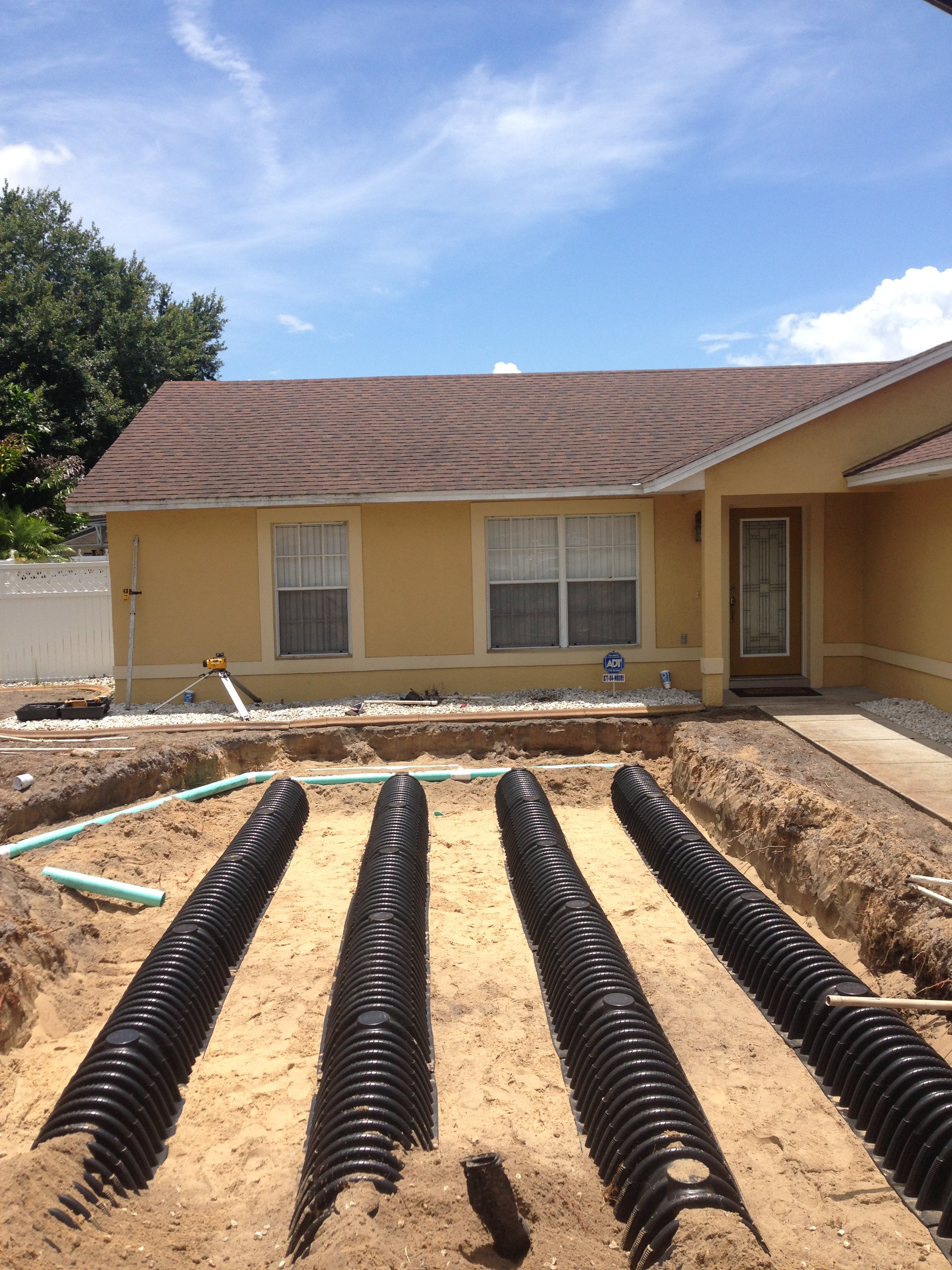 Drain Field Installation and Repair
